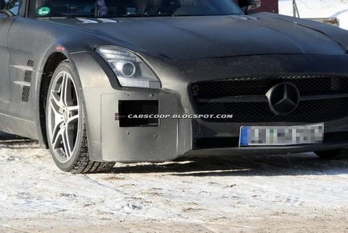 Mercedes-Benz SLS AMG Black Series Edition